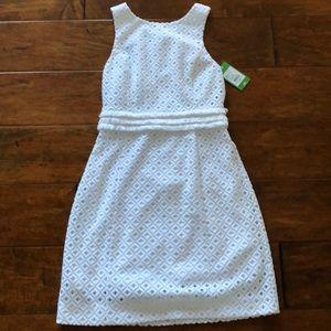Lilly Pulitzer White Dress xs